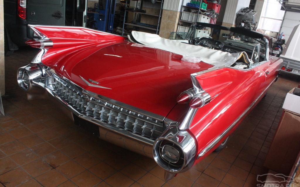 Cadillac Eldorado VI Крылатый