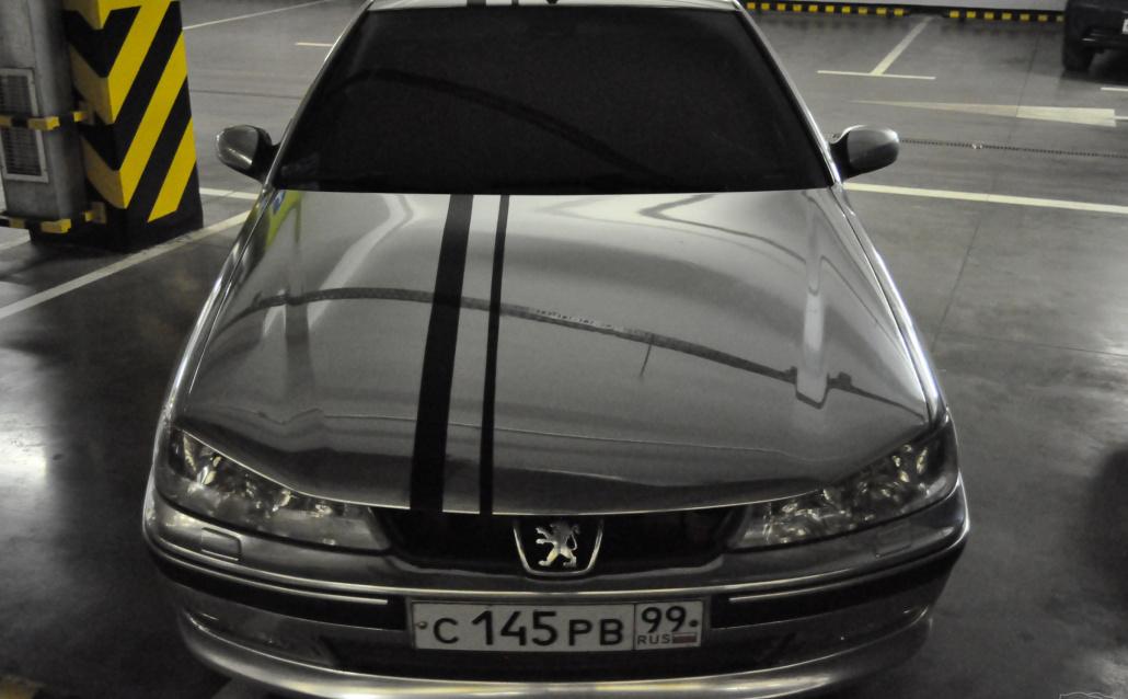 Peugeot 406 (8) Темно-серый(хромовый друг) продан
