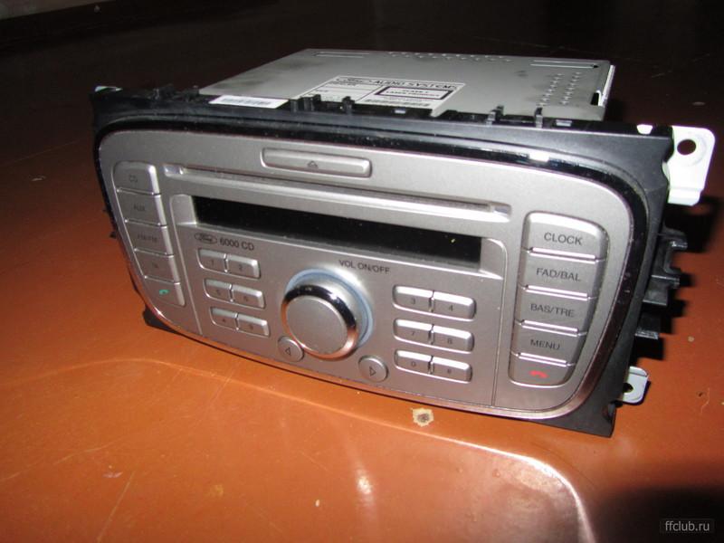 схема автомагнитола форд 6000