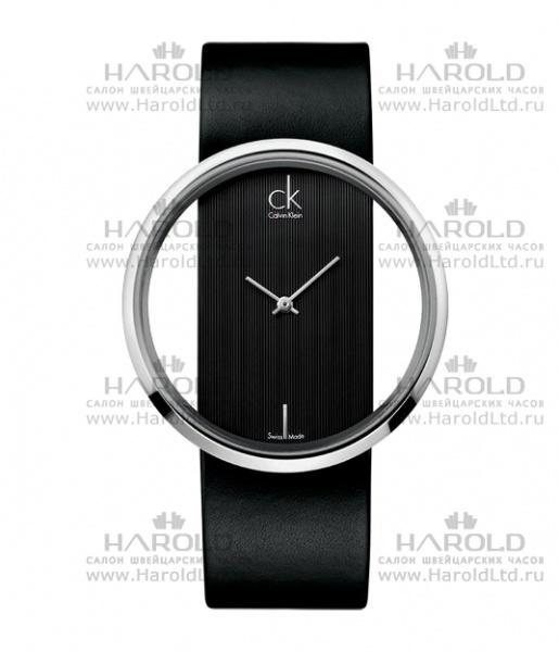 Мужские дизайнерские часы с прозрачным циферблатом.