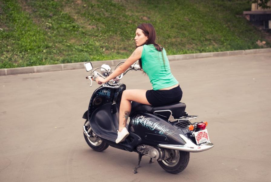 джокер фото скутер