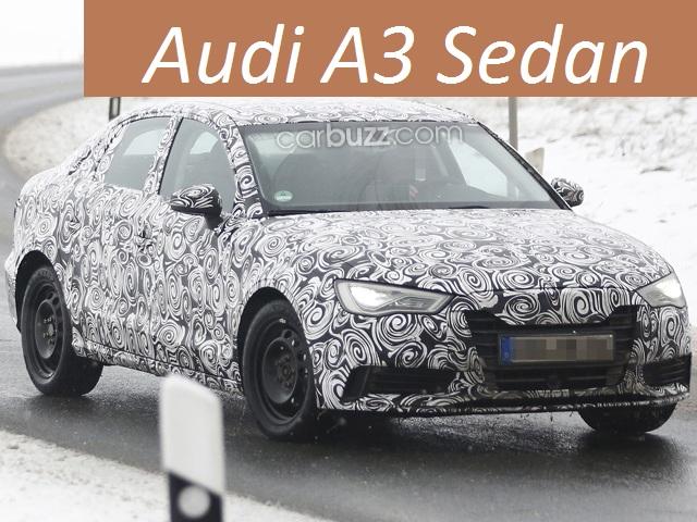 New Audi A3 Sedan