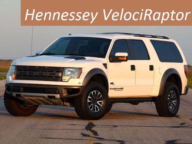 Обзор автомобиля ford hennessey velociraptor