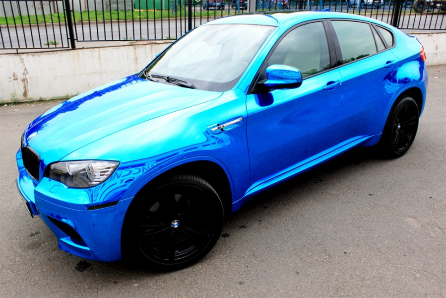 Bmw X6m синий хром блог компании Re Styling Smotra Ru