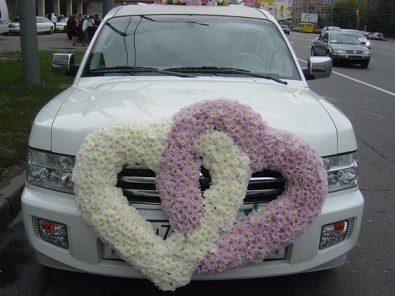 Наряженные машины на свадьбу фото