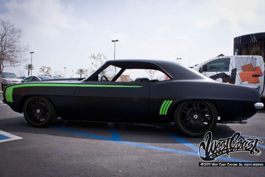 West Coast Customs Monster Energy Camaro личный блог