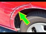 Удалить царапины с Кузова автомобиля своими руками