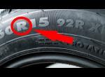 Буква R на шине автомобиля - Что же Это такое?