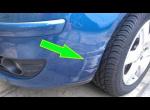 ШОК - Царапины на пластике автомобиля убрал с помощью Wd 40