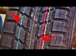 ЗАЧЕМ НУЖНЫ цветные ЛИНИИ НА ШИНАХ АВТОМОБИЛЯ - Какую ПОЛЕЗНУЮ информацию они РАССКАЖУТ ВОДИТЕЛЮ