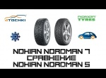 Nokian Nordman 5 сравнение Nokian Nordman 7